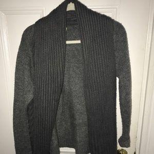 Cute open sweater!